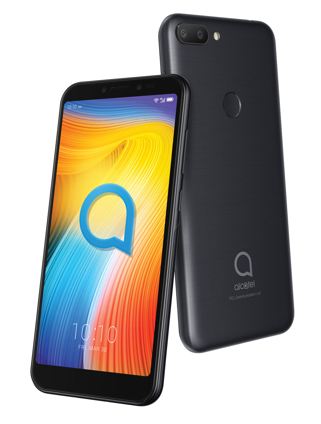 Alcatel 1S Metallic black Packaging viewwithout CE 1