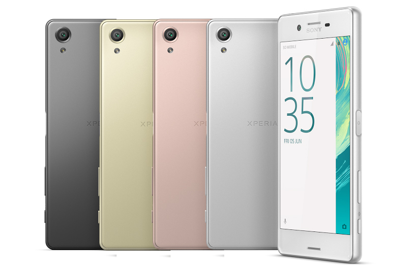 Xperia X Colours
