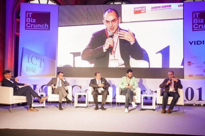 IT Biz Crunch forum na ICT Gold konferenciji, izvor: VIDI
