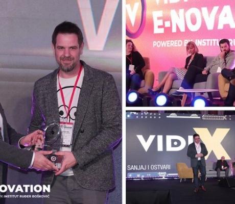 Na svečanoj dodjeli uručene nagrade VIDI e-novation Awards za hi-tech inovacije i predstavljen VIDI Project X