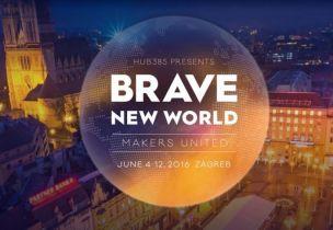 Šesti Brave New World u Zagrebačkom HUB385