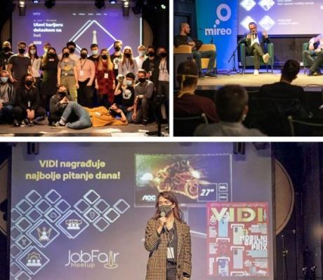 Održano JobFair Meetup događanje koje je čitav tjedan spajalo poslodavce i studente