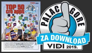 Top 50 hrvatskih aplikacija