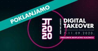 Osigurajte si besplatnu ulaznicu za najveći digitalni događaj Digital Takeover 2020