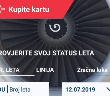 Croatia Airlines osvježio svoju mobilnu aplikaciju