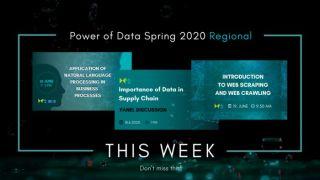 Power of Data Spring 2020 Regional ovog tjedna održava webinar, panel i radionicu