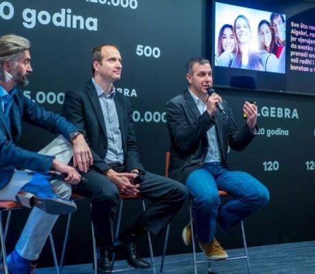 Algebra pod novim identitetom potiče drugačiju budućnost obrazovanja u Hrvatskoj