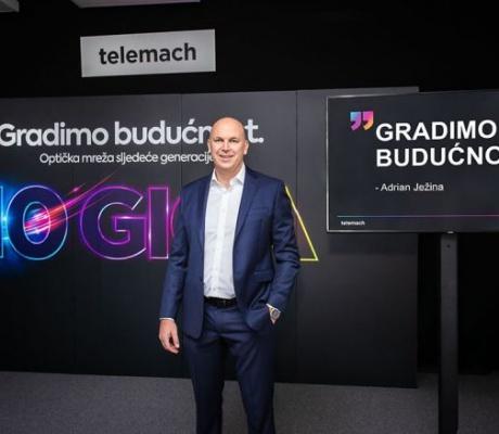 Telemach Hrvatska gradi najbržu 10 Giga optičku mrežu u Europi