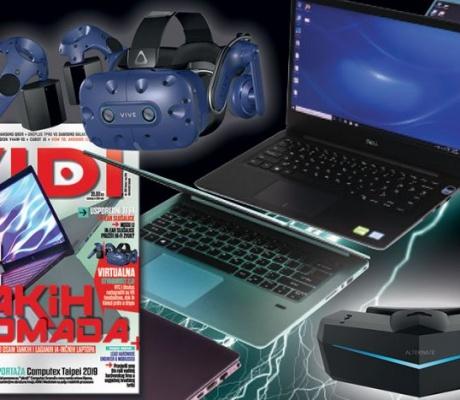 NOVI VIDI: 8 lakih komada laptopa za posao i zabavu