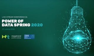 Megatrend na Power of Data Spring 2020 konferenciji predstavio napredna rješenja koja uključuju AI tehnologije