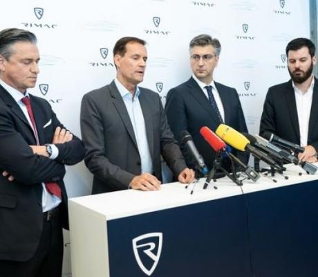 Rimac, Plenković, Porsche i Hyundai podupiru razvoj hrvatske autoindustrije