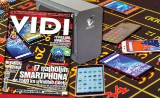 Teme Vidija 263: Smartfoni do 2500 kn, Top 30 hrvatskih aplikacija i kako pokrenuti biznis u Americi