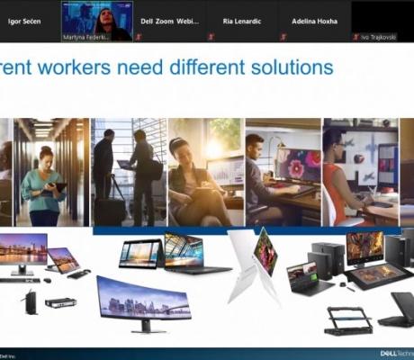 Što je donio webinar o Dellovim rješenjima za profesionalni kućni ured